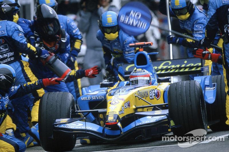 Pitstop para Fernando Alonso