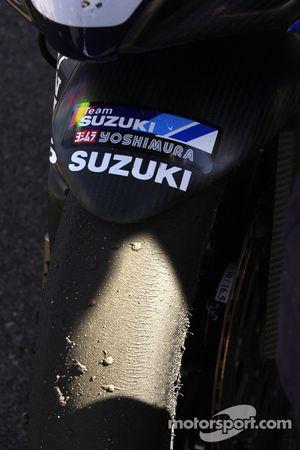 Matt Mladin's tire