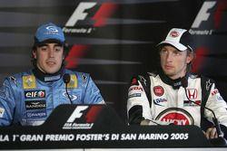Conférence de presse : le vainqueur Fernando Alonso et Jenson Button