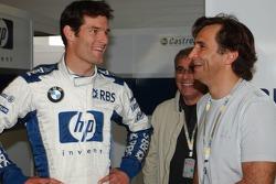 Mark Webber et Alex Zanardi