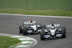 Nick Heidfeld et Mark Webber