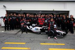 Family pictures for Christijan Albers, Patrick Friesacher, Chanock Nissany, Paul Stoddart, Giancarlo Minardi and Minardi team members