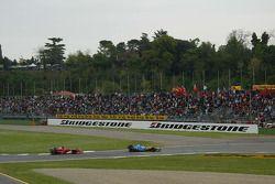 Lutte entre Fernando Alonso et Michael Schumacher