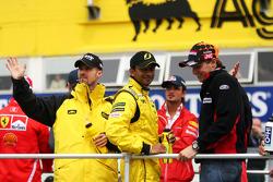 Présentation des pilotes : Tiago Monteiro, Narain Karthikeyan et Christijan Albers