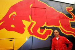 Anton Stipinovic, responsable du développement de Red Bull Racing