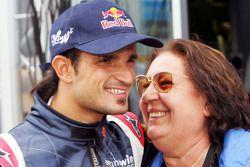 Vitantonio Liuzzi avec sa mère