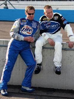 Rusty Wallace y Mark Martin