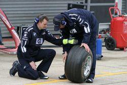 Williams pit ekibi
