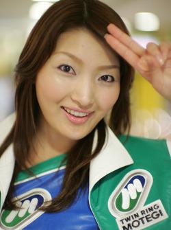 A lovely Twin Ring Motegi hostess