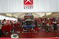 Area de servicio de Citroën Sport