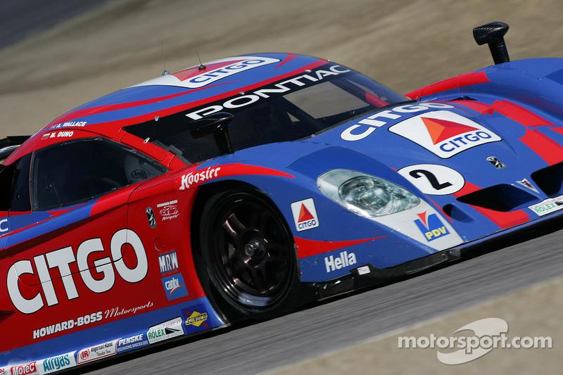 La CITGO - Howard - Boss Motorsports Pontiac Crawford N°2 (Andy Wallace, Milka Duno)