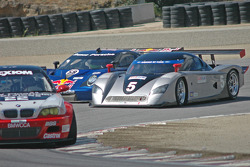 #5 Essex Racing Ford Crawford: Joe Pruskowski, Justin Pruskowski, #58 Red Bull/ Brumos Racing Porsche Fabcar: David Donohue, Darren Law