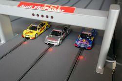 Slotcars in Audi hospitality area