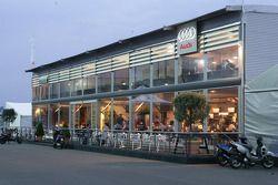 Audi hospitality area