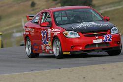 #32 Franklin American Mortgage Chevrolet Cobalt: Tom Lepper, Bo Roach