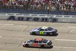 Pace laps: Kevin Harvick and Jeff Gordon