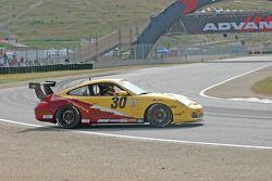 Spin for #30 Alegra Motorsports Porsche GT3 Cup: Carlos de Quesada, Hugh Plumb