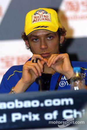 Valentino Rossi. Yamaha