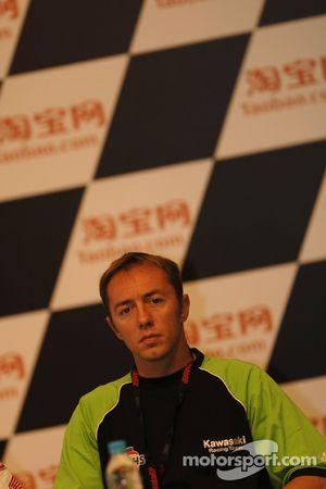 Olivier Jacque en conférence de presse