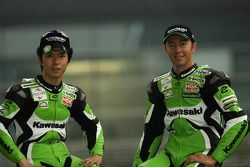 Shinya Nakano et Olivier Jacque