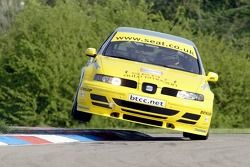 #11 SEAT Sport UK's Jason Plato in the SEAT Toledoa Cupra
