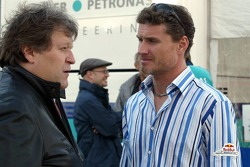 Norbert Haug y David Coulthard