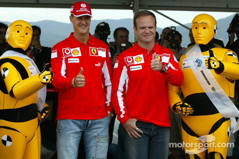 FIA Foundation, Bridgestone - Road Safety Campaign 'Think before you drive': Michael Schumacher and