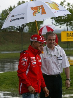 FIA Foundation, Bridgestone - Road Safety Campaign 'Think before you drive': Michael Schumacher