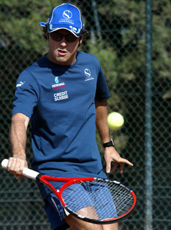 F1 Tennis Charity for the Northampton Intensive Care Unit at the Sanchez-Casal Open Tennis Academy: