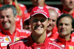 Ferrari photoshoot: Michael Schumacher
