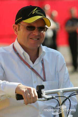 Jordan team owner Alex Schnaider