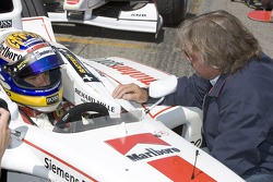 Nico Rosberg y Keke Rosberg