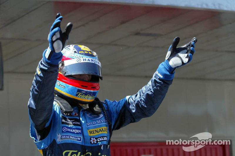 Fernando Alonso gana el GP de España 2006