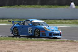 #56 Czech National Team Porsche 996 GT3 RSR: Mauro Casadei, Jan Vonka