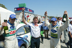 Malcolm Wilson celebrates 50th consecutive WRC finish for Ford