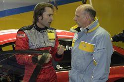 Heinz-Harald Frentzen et Volker Strycek