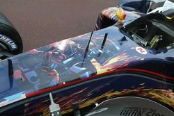 Star Wars en el auto de Red Bull Racing