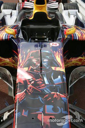 Darth Vader en el Red Bull Racing