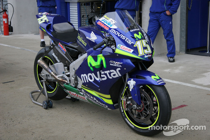 мотоцикл команды Movistar Honda Moto Gp гп франции