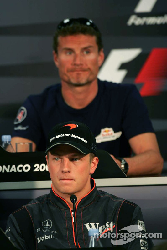 Wednesday FIA press conference: Kimi Raikkonen and David Coulthard