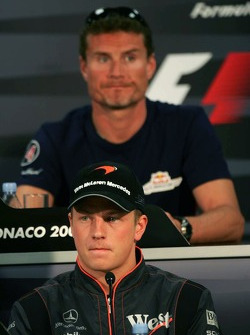 Wednesday FIA press conference: Kimi Raikkonen and David Coulthard