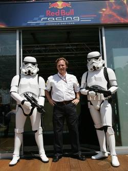 Christian Horner mit Stormtrooper