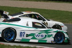 #07 Spirit of Daytona Racing Pontiac Crawford: Bob Ward, Roberto Moreno, Henry Zogaib, #80 Synergy Racing Porsche GT3 Cup: Craig Stanton, David Murry, Mae Van Wijk