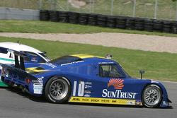 #10 SunTrust Racing Pontiac Riley: Wayne Taylor, Max Angelelli passes #07 Spirit of Daytona Racing Pontiac Crawford: Bob Ward, Roberto Moreno, Henry Zogaib