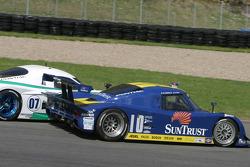 #10 SunTrust Racing Pontiac Riley: Wayne Taylor, Max Angelelli passes #07 Spirit of Daytona Racing P