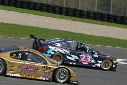 #23 Horizon Motorsports LLC Pontiac GTO: Kris Szekeres, Mike Weinberg, Frank Del Vecchio, #77 Doran Racing Lexus Doran: Fabrizio Gollin, Matteo Bobbi