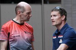 Adrian Newey et David Coulthard