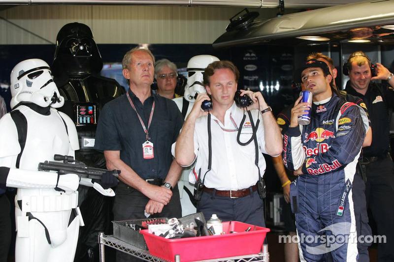 (F1) Darth Vader, Helmut Marko, Christian Horner e Liuzzi