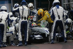 Pitstop for Mark Webber
