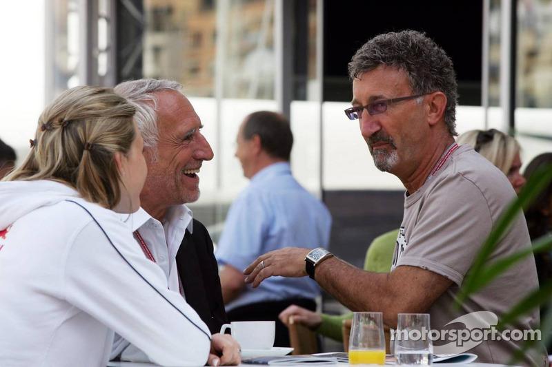 Eddie Jordan and Dietrich Mateschitz